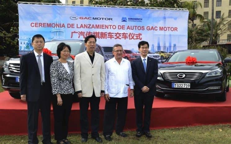 Cuba ofrecerá autos chinos GAC en el servicio de renta a extranjeros (+ Fotos)