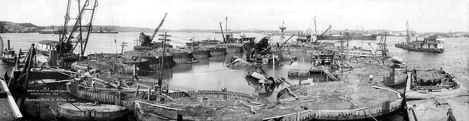El hundimiento del Maine: 120 años después las hipótesis siguen siendo las mismas