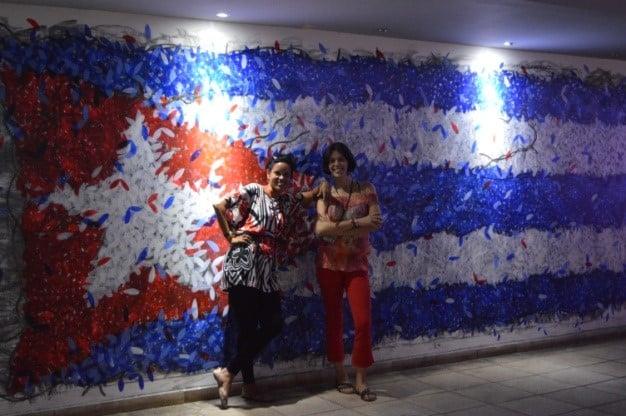 Recorriendo en video la Fábrica de Arte en La Habana junto a las youtubers de la mochila de Luna
