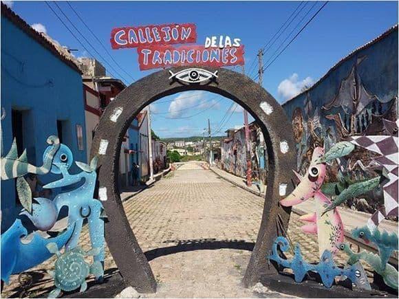 Más que rumba en un callejón cubano