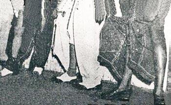 Los pantalones de los Chucheros después de la batalla de las tijeras.