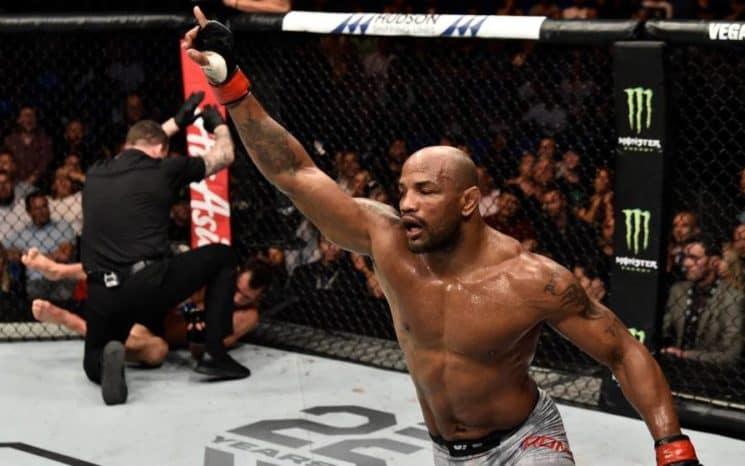 Yoel Romero, 'el Soldado de Dios', logra contundente victoria en su enfrentamiento en la UFC