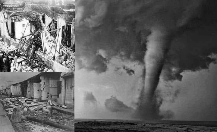 ¿Sabes cuál ha sido el tornado más poderoso que ha sufrido Cuba?