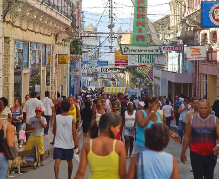Santiago de Cuba Calle Enramadas