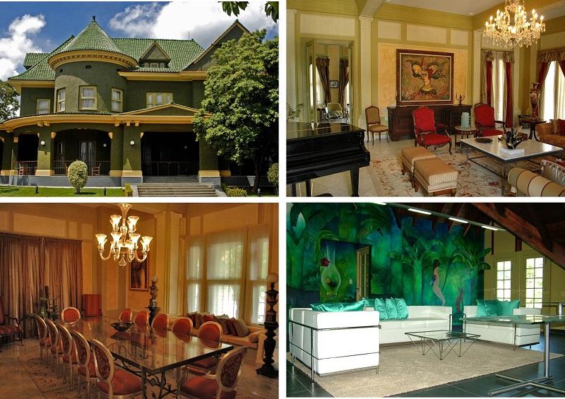 La Casa de las Tejas Verdes siempre se distinguió por su hermosa arquitectura