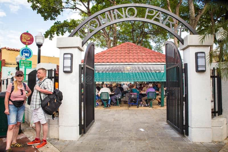 Parque del Dominó, un símbolo de la Pequeña Habana y de su gente