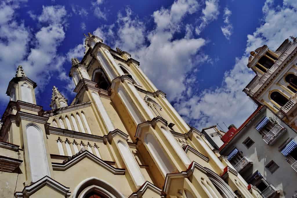 Te contamos de la Iglesia del Santo Ángel Custodio, el templo donde bautizaron a José Martí