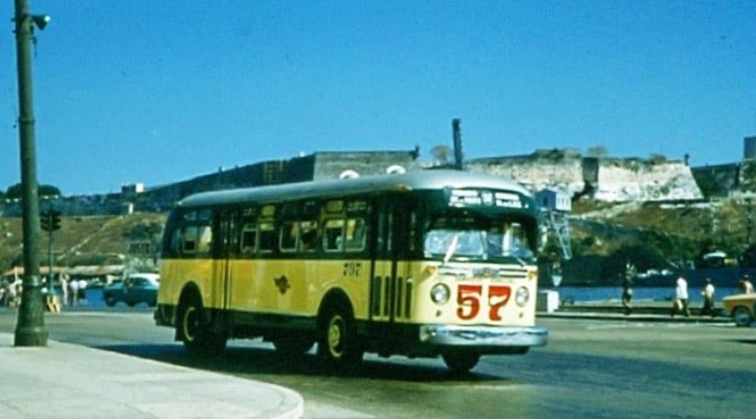 La curiosa historia de un ómnibus que hizo época en Cuba y quizás tus abuelos recuerden