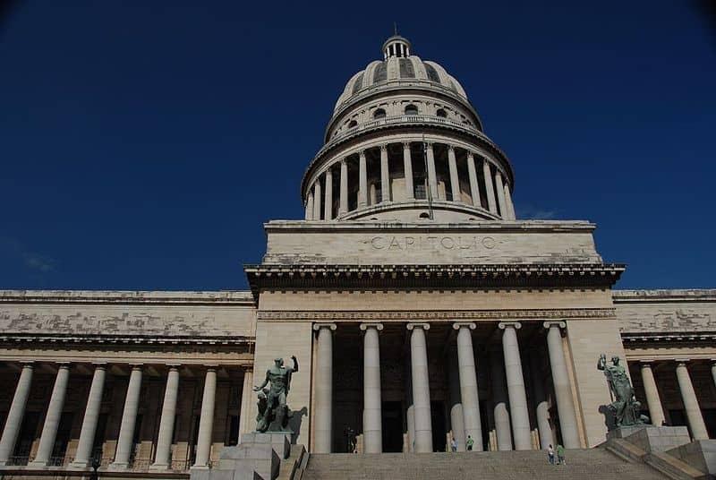 Una mirada al Capitolio de La Habana