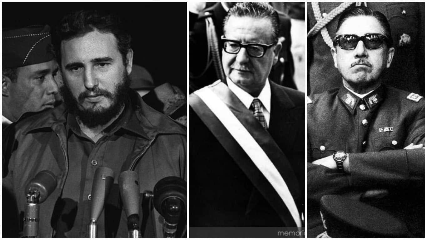 A 45 años del Golpe de Estado en Chile te recordamos la curiosa relación de Fidel Castro con ambos lados de la historia
