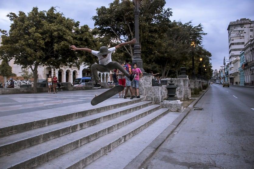 Skate, el deporte extremo con el que las autoridades tienen prohibido en Cuba (+ Fotos)