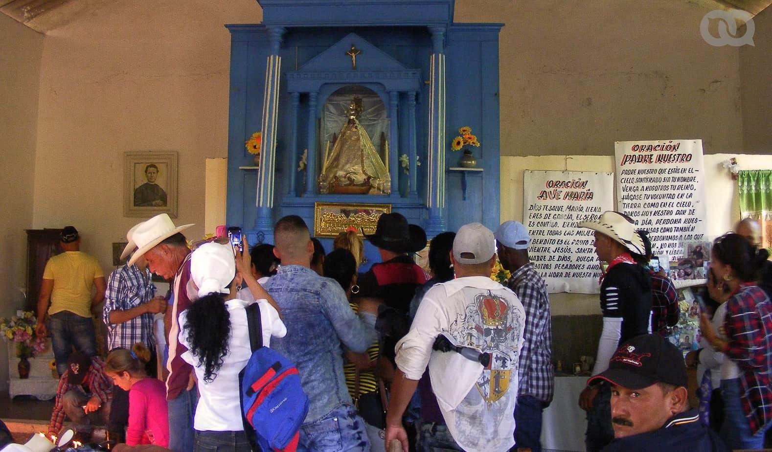 El casi desconocido acto de devoción a la Virgen de la Caridad del Cobre que se realiza cada año en un remoto lugar de Cuba (+ Fotos)