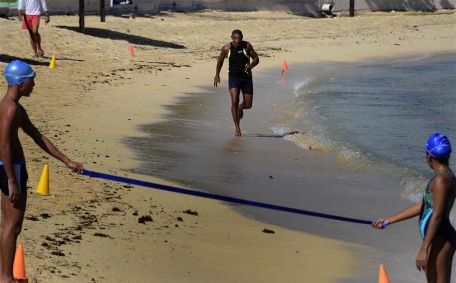 Reinaldo Morán, el cubano de 71 años que corre 60 metros en 9 segundos