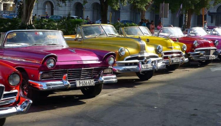 Automóviles en cuba antes de la revolución