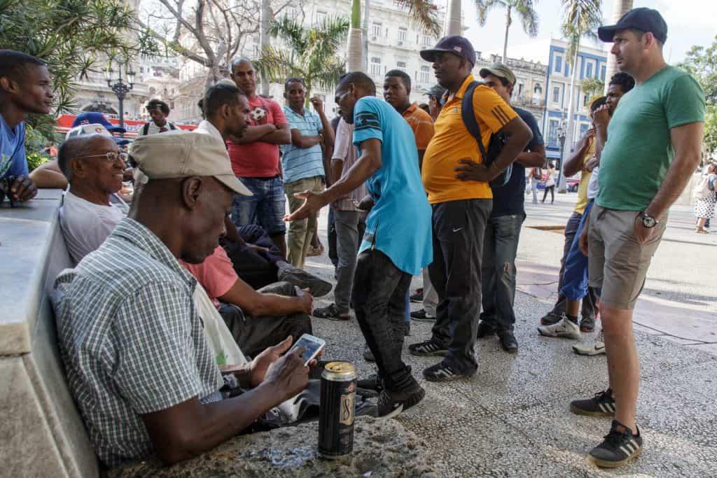 La esquina caliente de la Habana