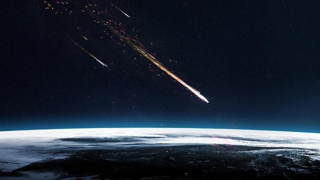 Un meteorito cae en Morón