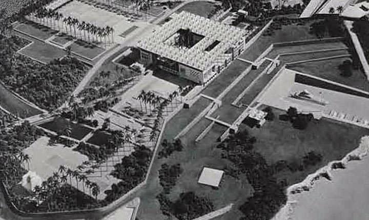 Maqueta de Nuevo Palacio Presidencial de Cuba.
