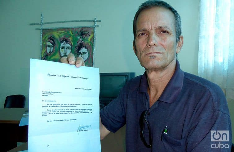 Ricardo Gonázlez, el cubano que escribe cartas a presidentes y reyes