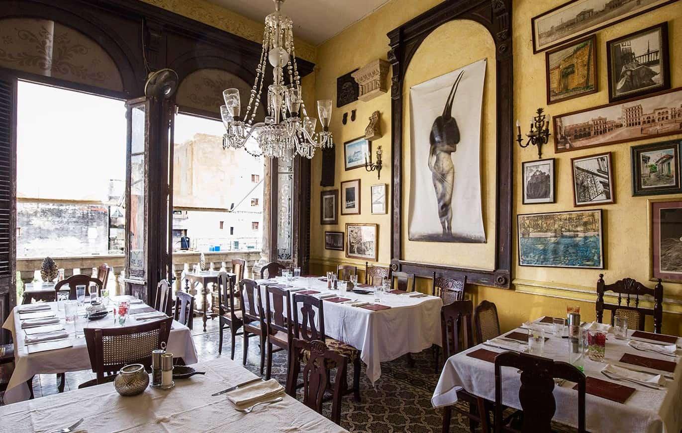 La Guarida, el restaurante privado cubano que nació de una película y se ha convertido en el preferido por las estrellas de Hollywood que visitan Cuba (+ Fotos)