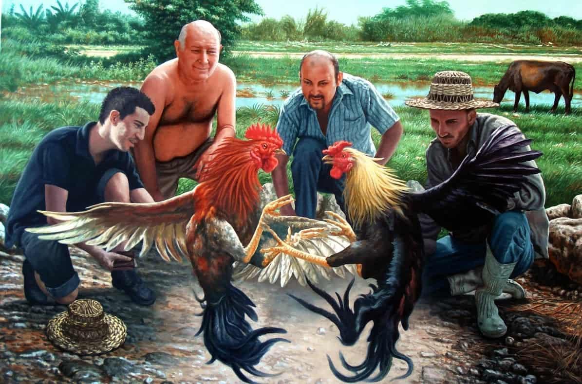 ¿Sabías que Ernest Hemingway fue un apasionado de las peleas de gallos mientras vivió en Cuba?