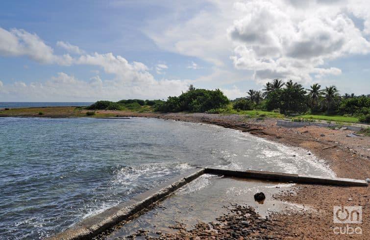 La Playita de los Rusos de Alamar, un tramo costero que se quedó desolado con la caída del campo socialista