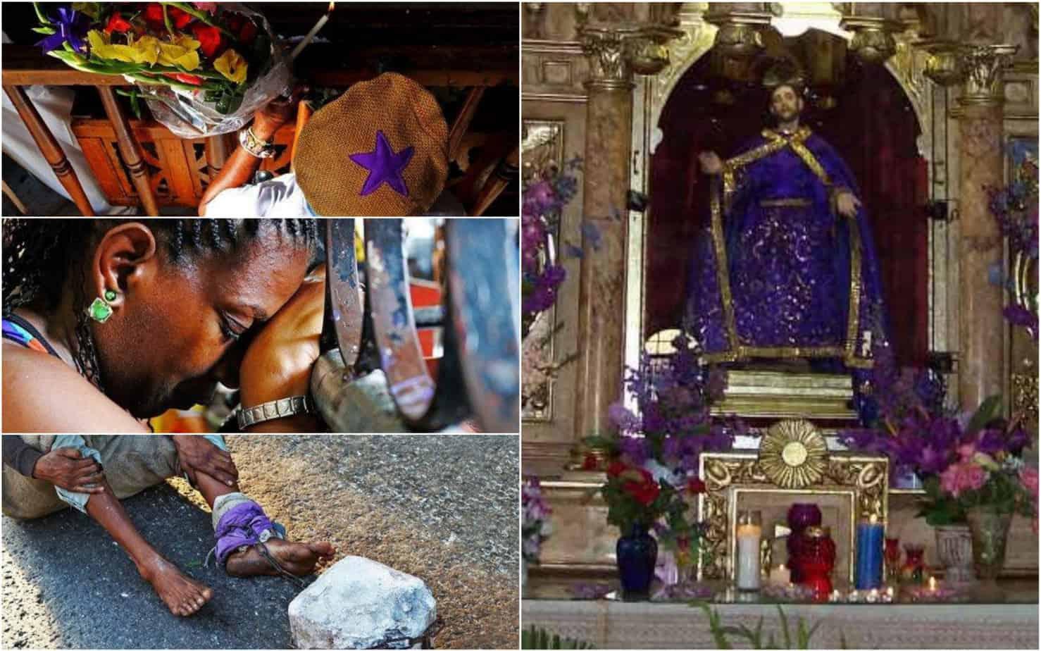 Hoy 17 de diciembre Cuba celebra al viejito más milagroso del mundo: San Lázaro (+ Fotos)