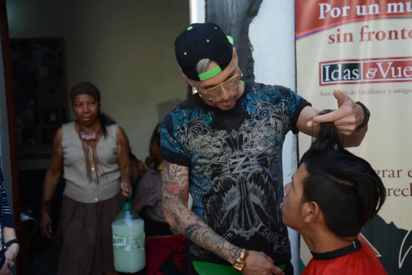 Dainier Pacheco, de profesional en Cuba a barbero en Uruguay. (La vida de muchos hermanos cubanos que buscan un futuro mejor)
