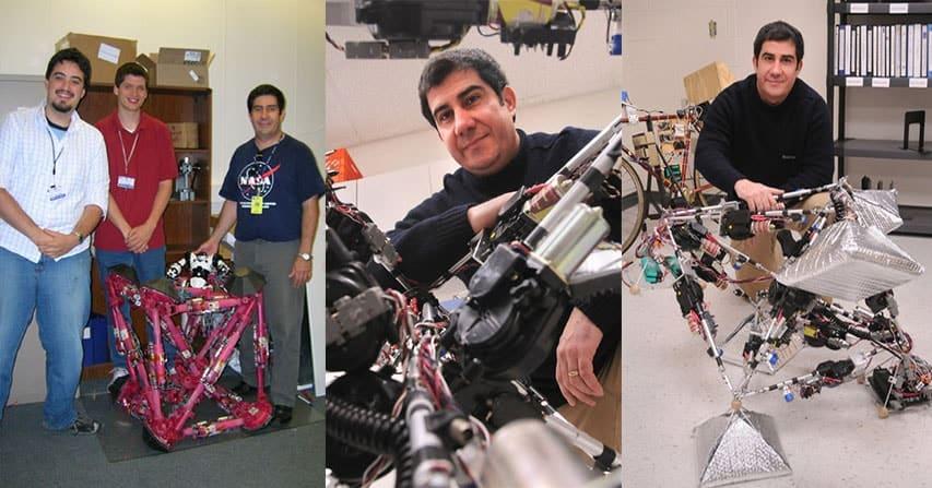 La incrible historia de superación de Miguel Abrahantes, el cubano que desde Cienfuegos terminó diseñando robots para la NASA