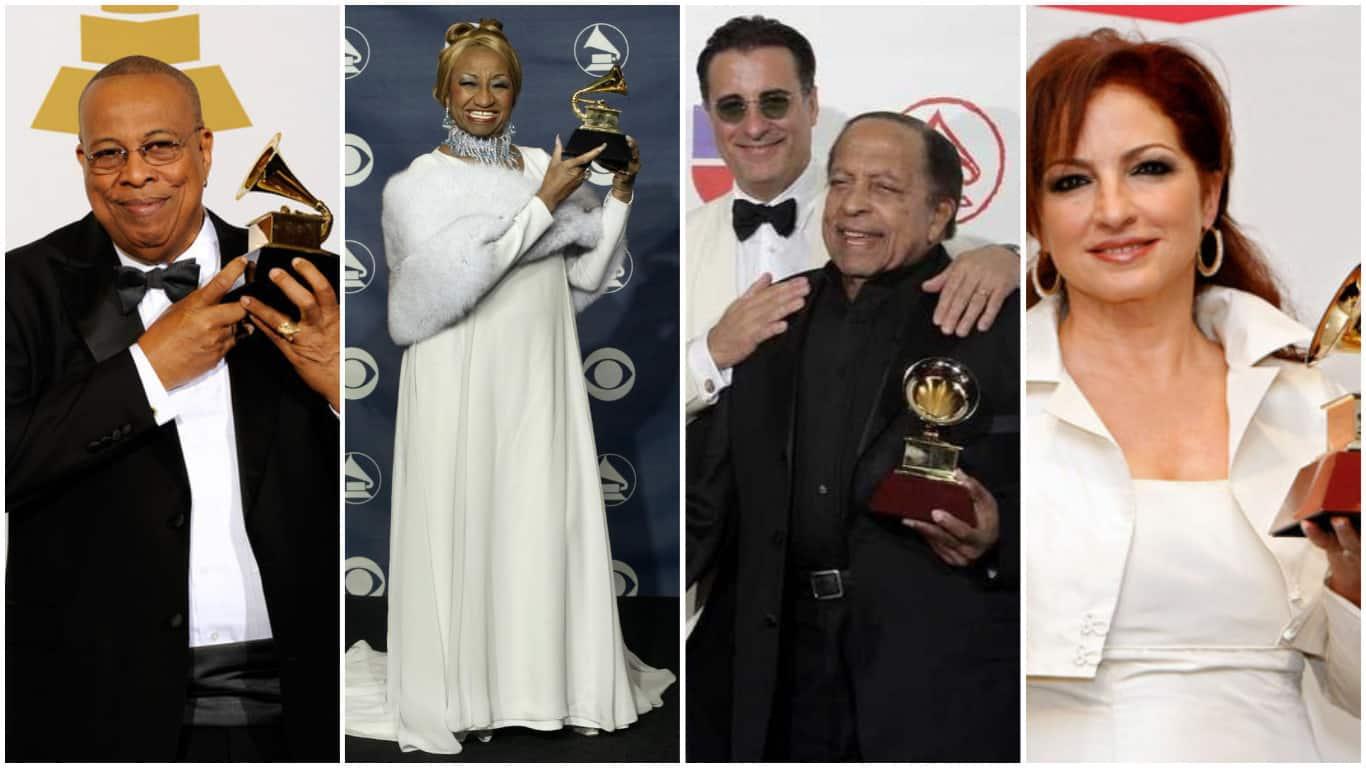 Estos son los cuatro artistas cubanos que más premios Grammy han recibido en la historia… descubre cuántos tienen entre todos