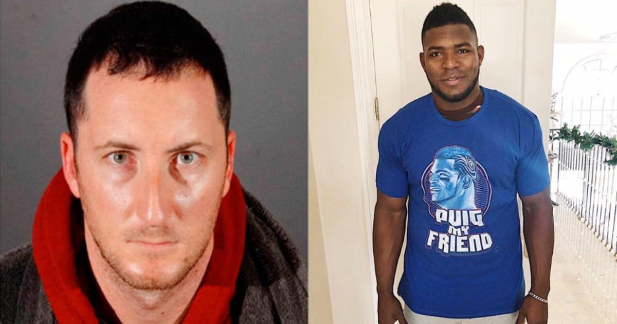 Arrestan al hombre que robó la casa del pelotero cubano Yasiel Puig (+ Video)