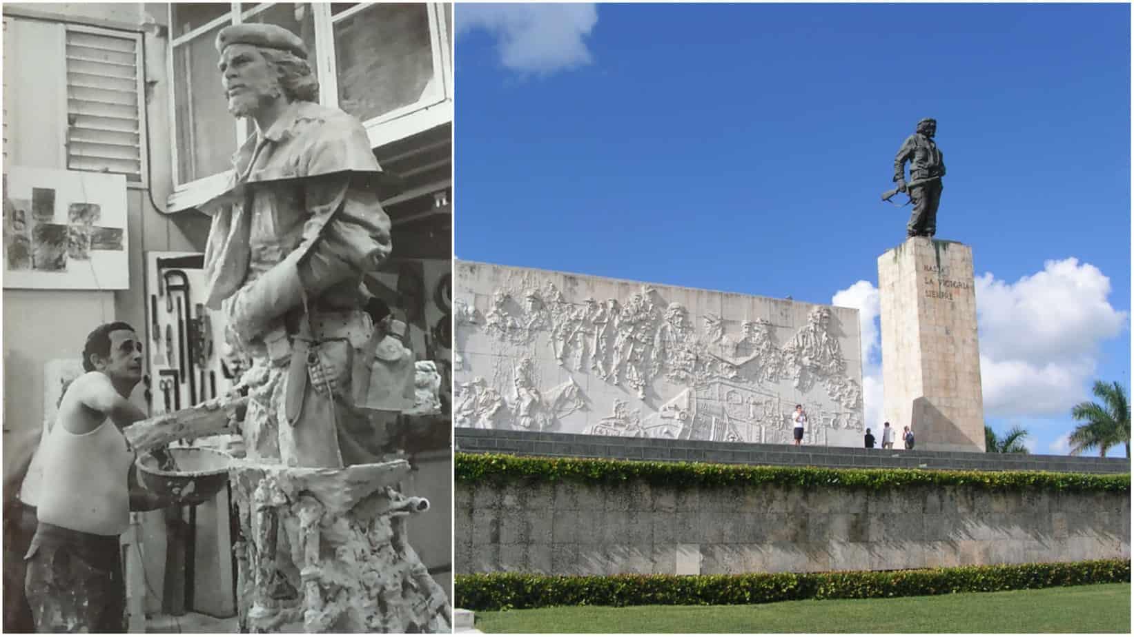 José Delarra, el autor de la escultura del Che más conocida del mundo