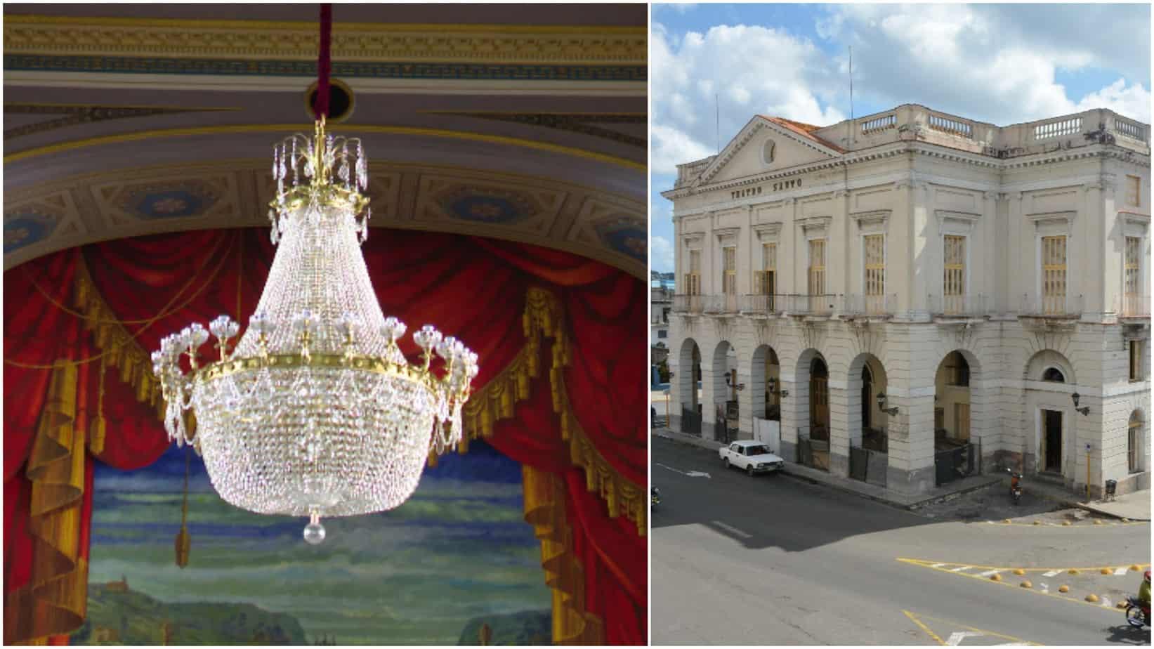 El Teatro Sauto y sus luces: invaluables joyas matanceras