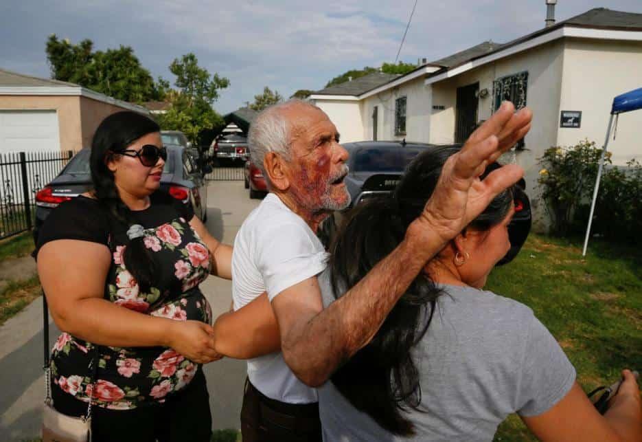 Le dan 15 años de cárcel a mujer que le destrozó la mandíbula con un ladrillo a un abuelito hispano