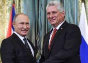 Putin y Díaz-Canel