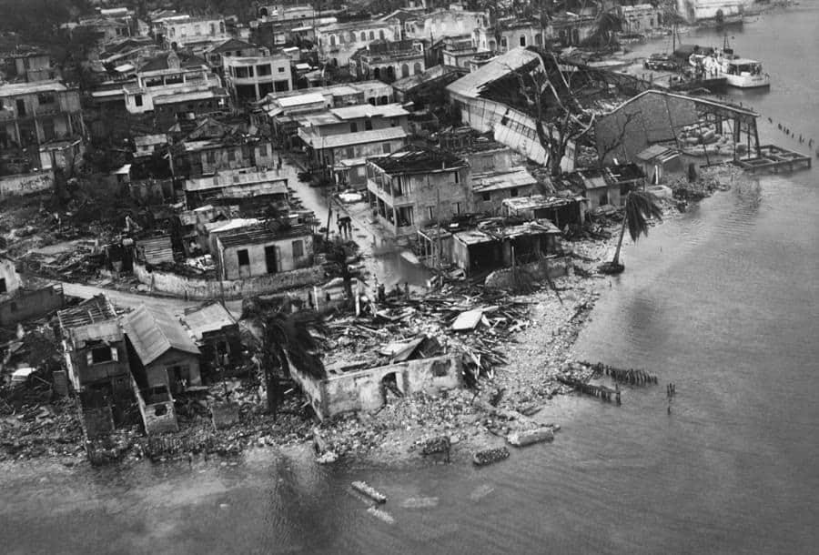 Flora, el huracán más lluvioso en la historia de Cuba