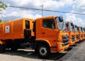 Donación de 24 camiones a Cuba