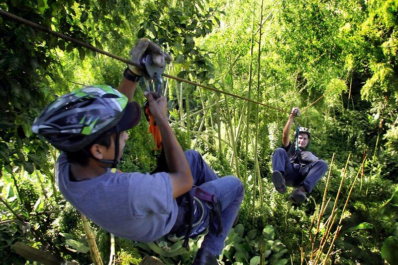 Canopy: una gran aventura en Pinar del Río