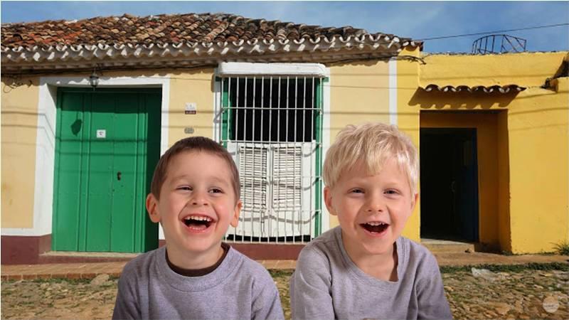 Alojarse en una casa particular permitirá que los niños conozcan más de la manera de vivir en Cuba