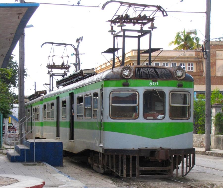 Viaja por Cuba en el legendario tren eléctrico de Hershey