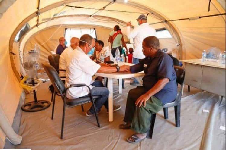 Brigada médica cubana en Mozambique concluye misión