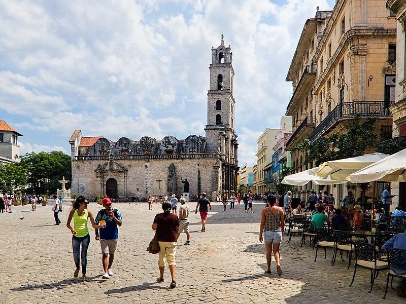 La plaza de San Francisco de Asís es uno de los íconos de La Habana Vieja