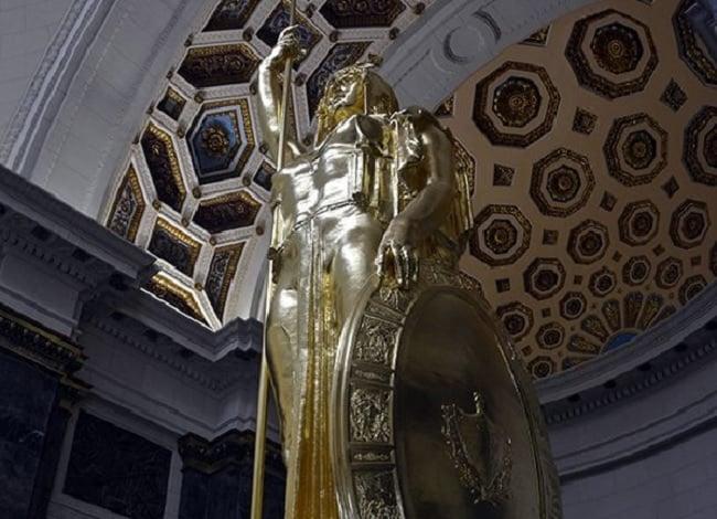 Restauran la Estatua de la República de Cuba del Capitolio