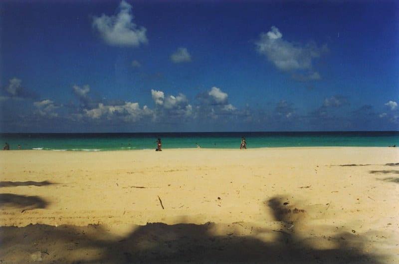 Guanabo, en las playas del este de Cuba