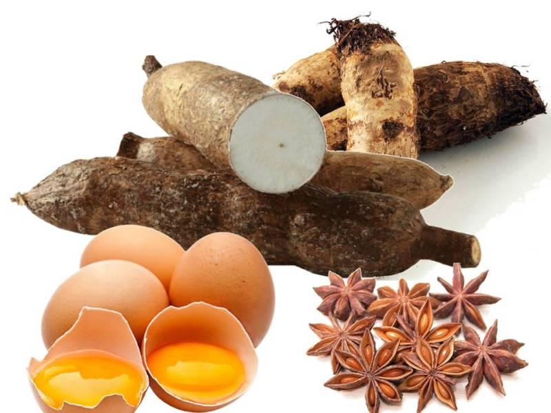 Ingredientes de las recetas de los buñuelos cubanos