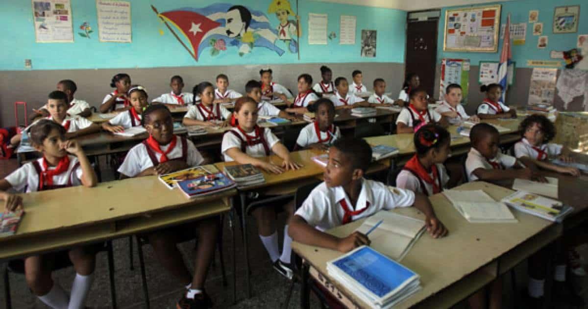 Escuelas en Cuba