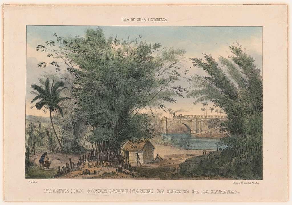 Un puente sobre el río cubano Almendares