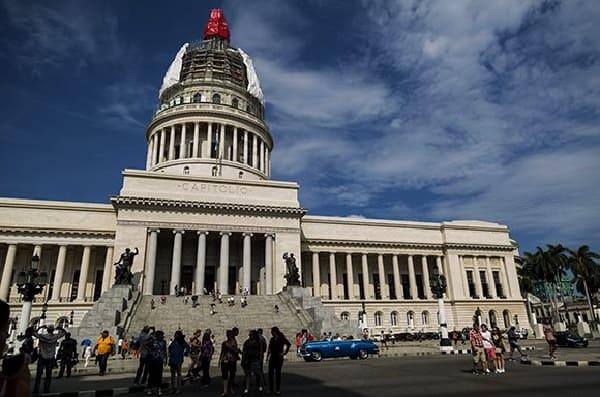 Exponen la cúpula del Capitolio luego de su restauración