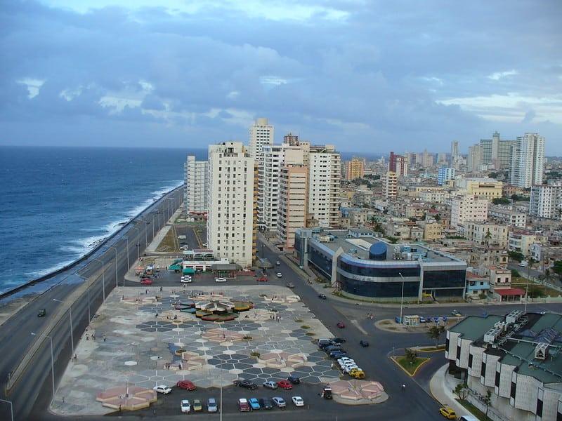 Vista de la Habana desde el Hotel Riviera
