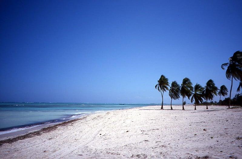 Playa de Guardalavaca en Cuba