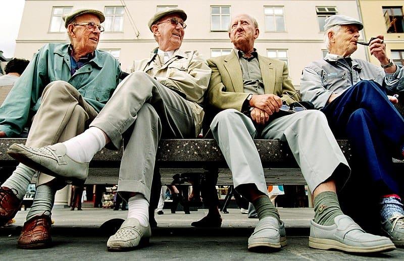 Personas de 100 años